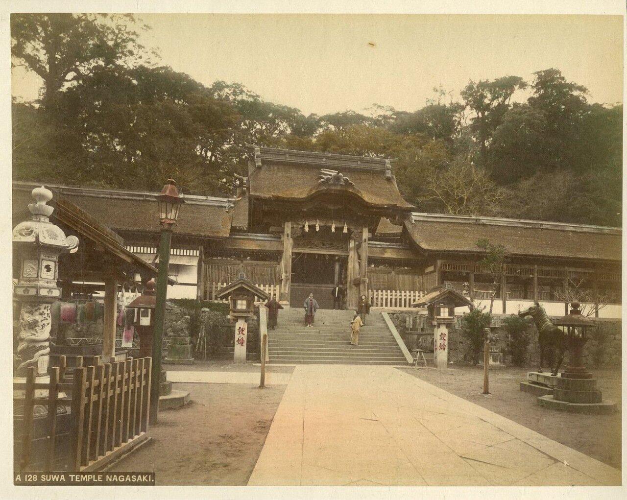 Нагасаки. Сува-дзиндзя