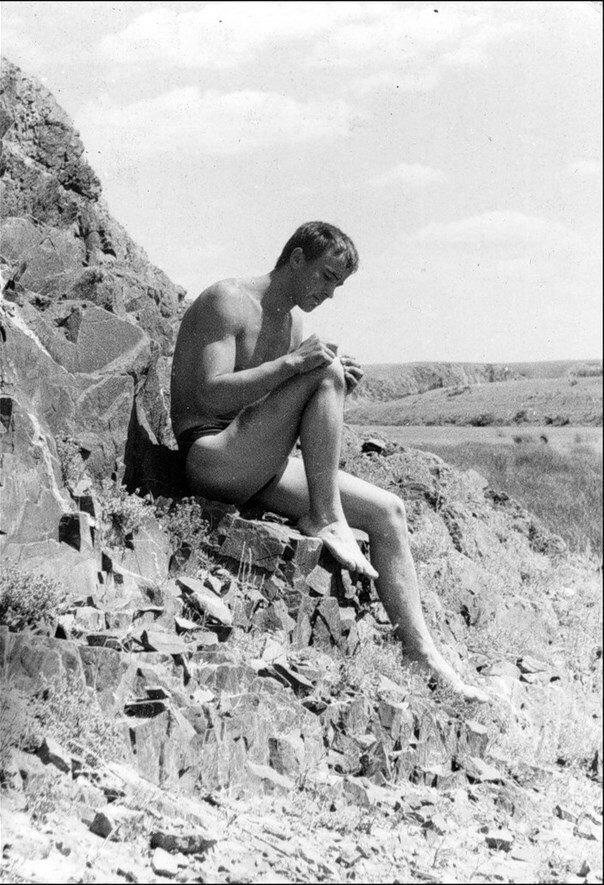 1966.  Праздник День строителя в стройотряде