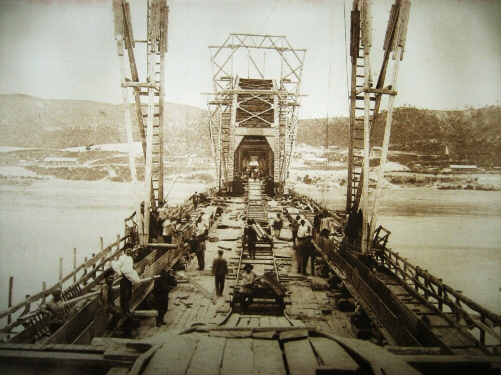 03. Постройка Белогорского моста