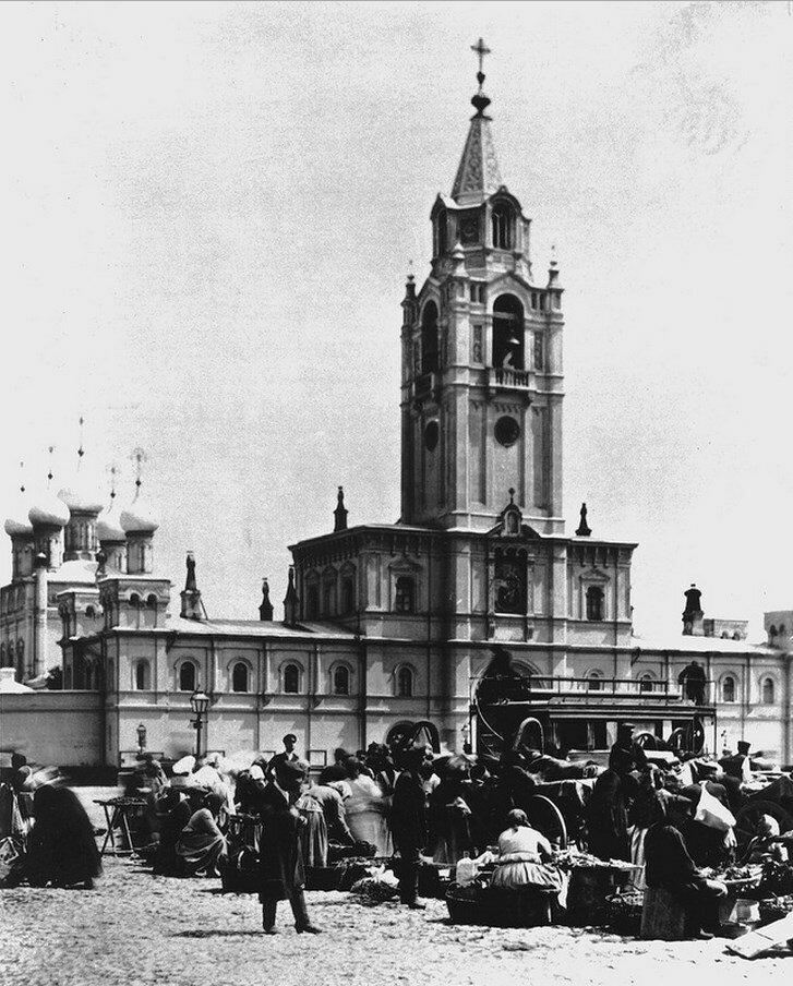 458. Рынок возле Страстного монастыря