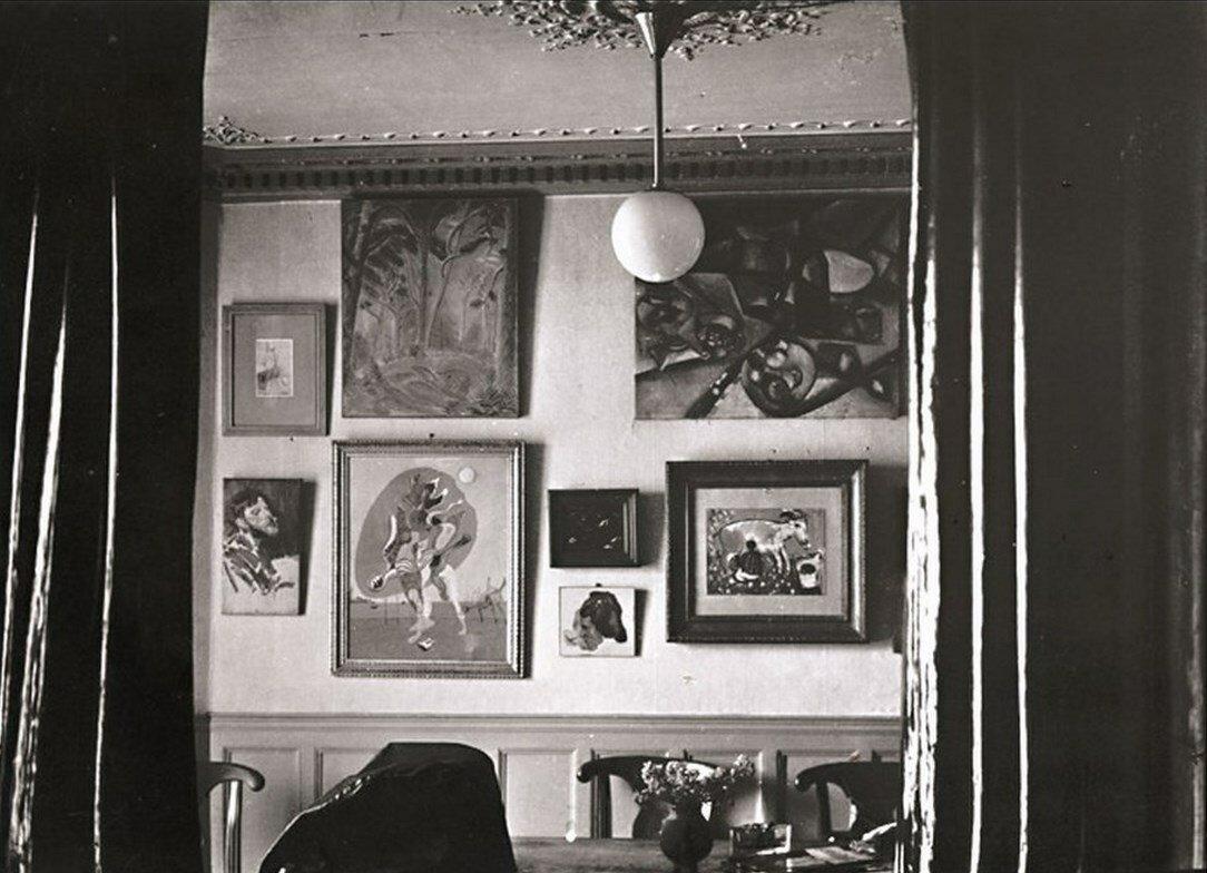 1944. Квартира Поля Элюара и его коллекция живописи