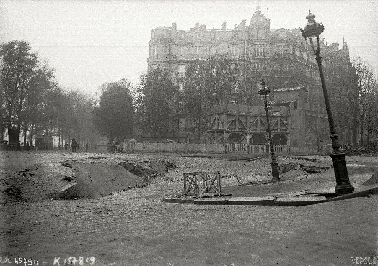 1915. Провал на площади Альмы