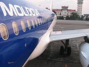 Самолет экстренно сел в Кишиневе после вылета