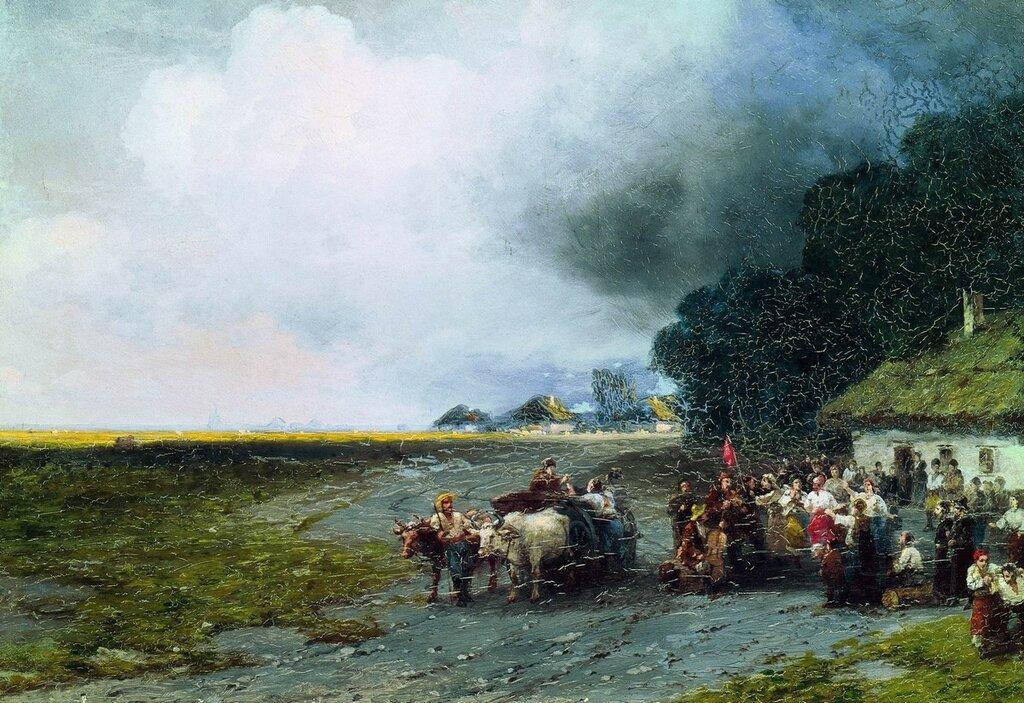 Свадьба на Украине. 1892.jpg