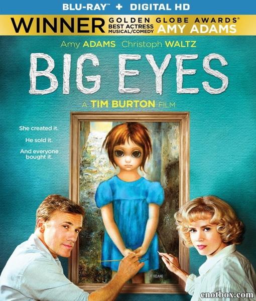Большие глаза / Big Eyes (2014/BDRip/HDRip)