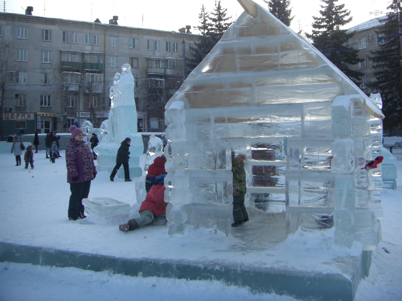 Ледяная избушка