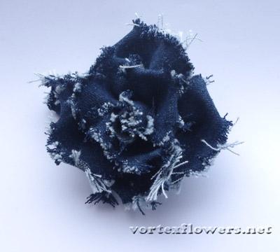 роза из джинсы своими руками
