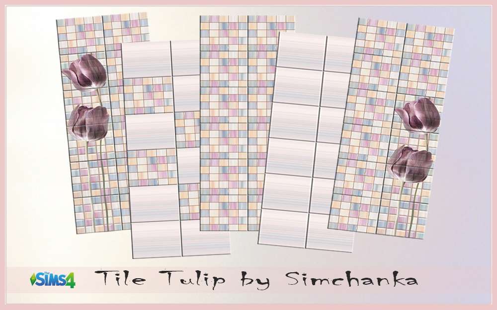 Tile Tulips by Simchanka