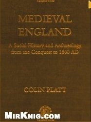 Книга Medieval England: A Social History and Archaeology from the Conquest to 1600 AD