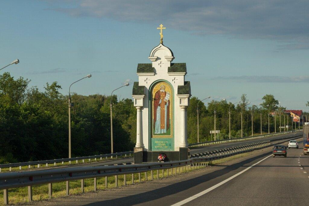 Часовня-киот Серафима Саровского и Владимирской иконы Божией Матери