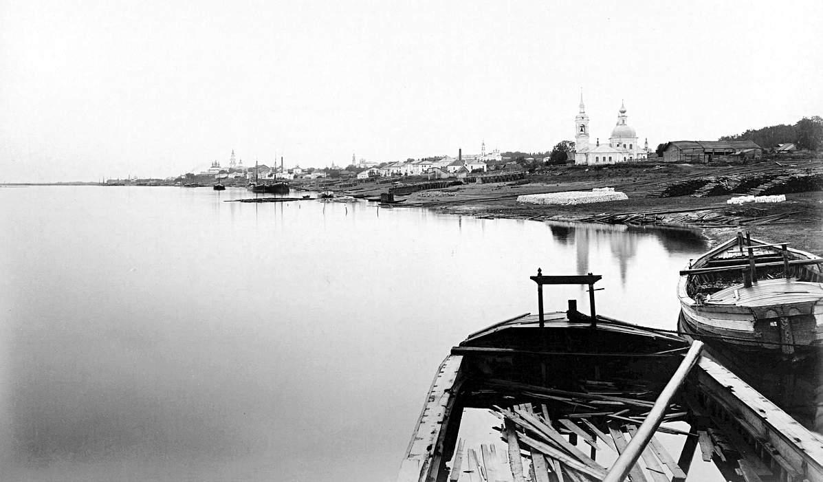 Волга в Костромской области