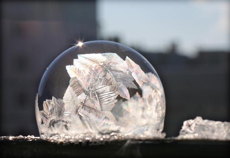 2. Жил-был на морозе пузырь. Биография.