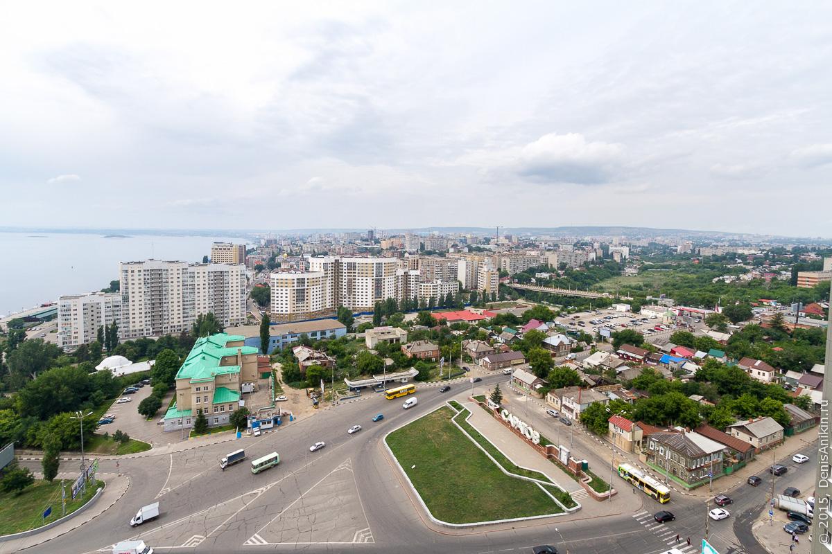 Саратов панорама крыша 13