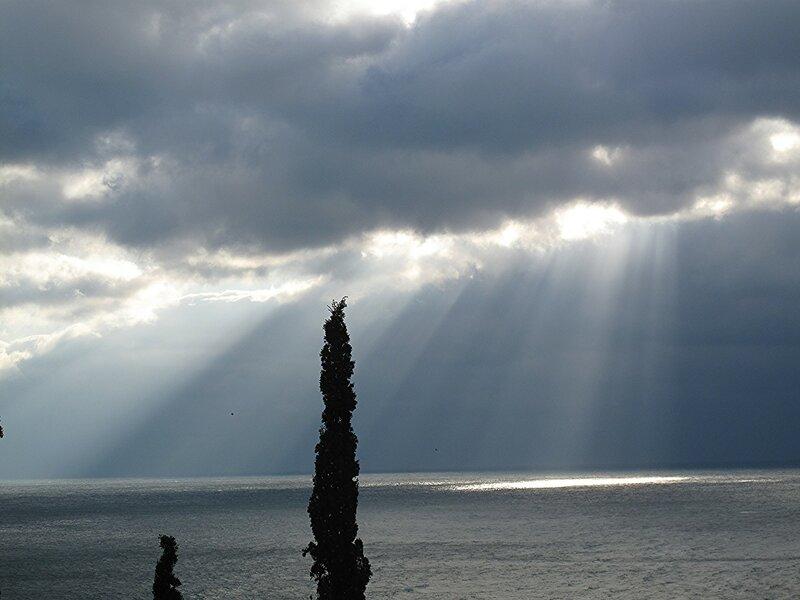 Крым в декабре, Симеиз