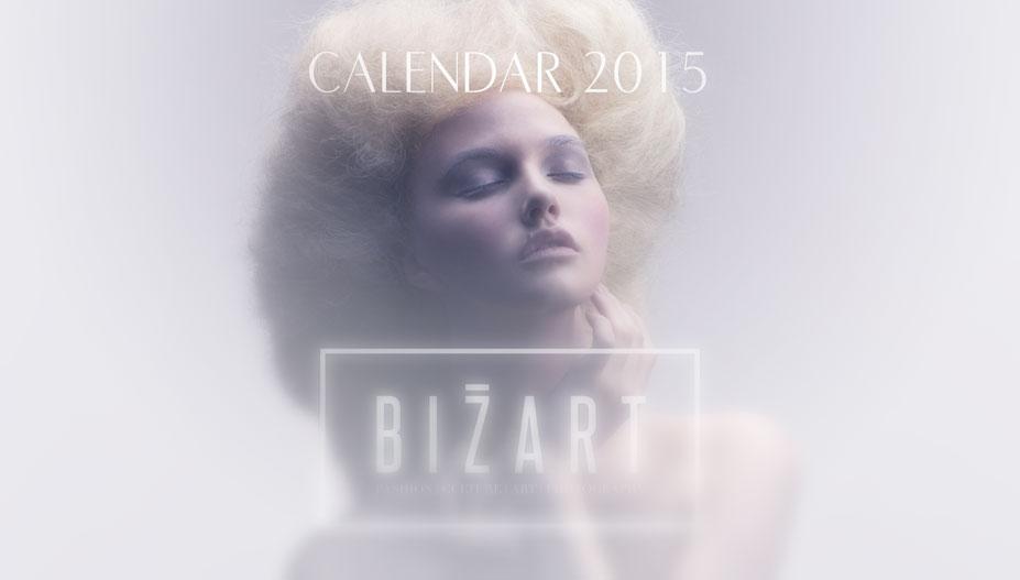 модно-артистический календарь журнала Bizart 2015 calendar
