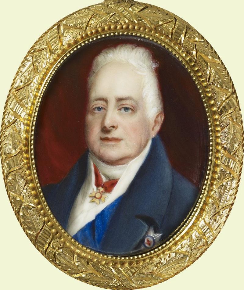 Вильгельм IV (1765-1837)  Подпись и дата 1846