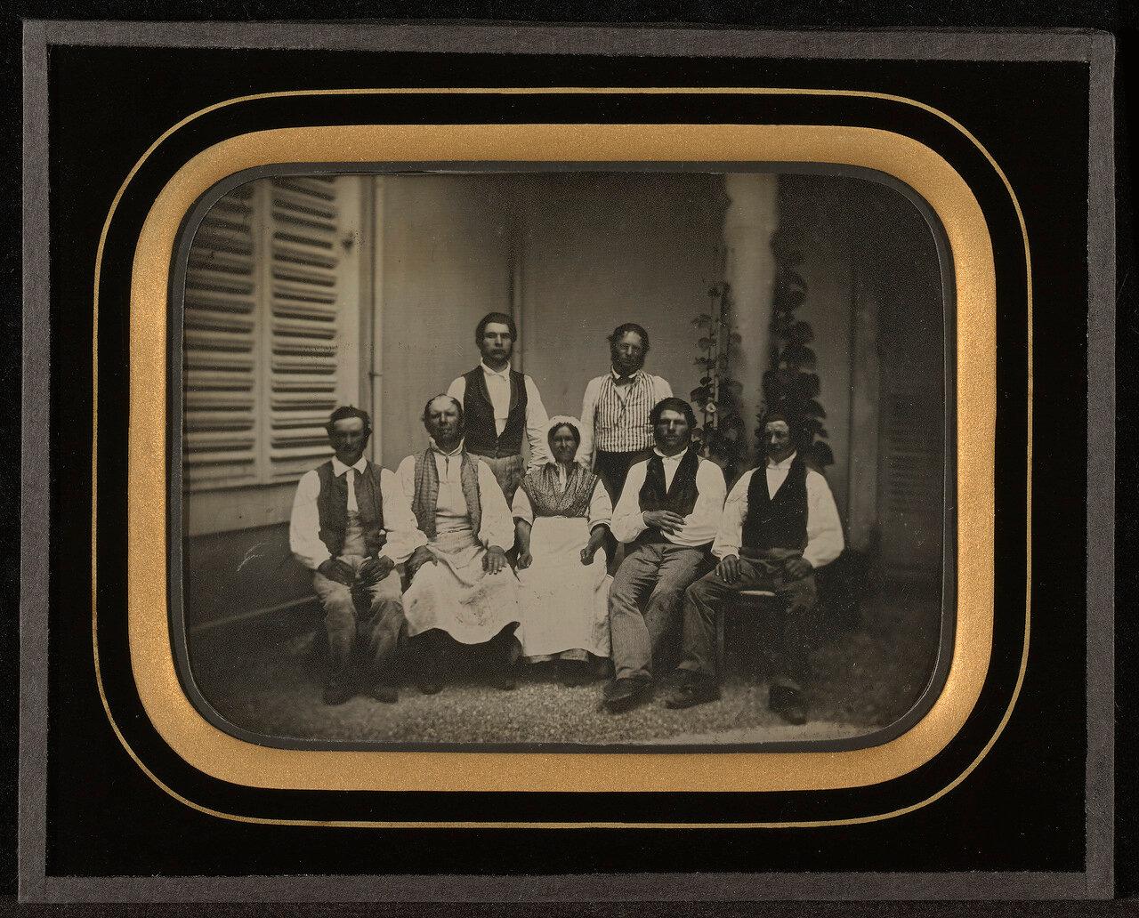 1847. Семь слуг. Швейцария