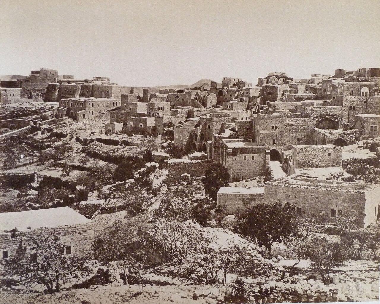 Вифлеем. Панорама. 1881