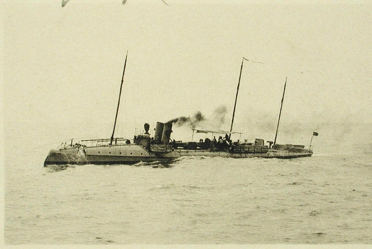 59.Миноносец Уссури, прибывший из Владивостока. 20 мая 1895