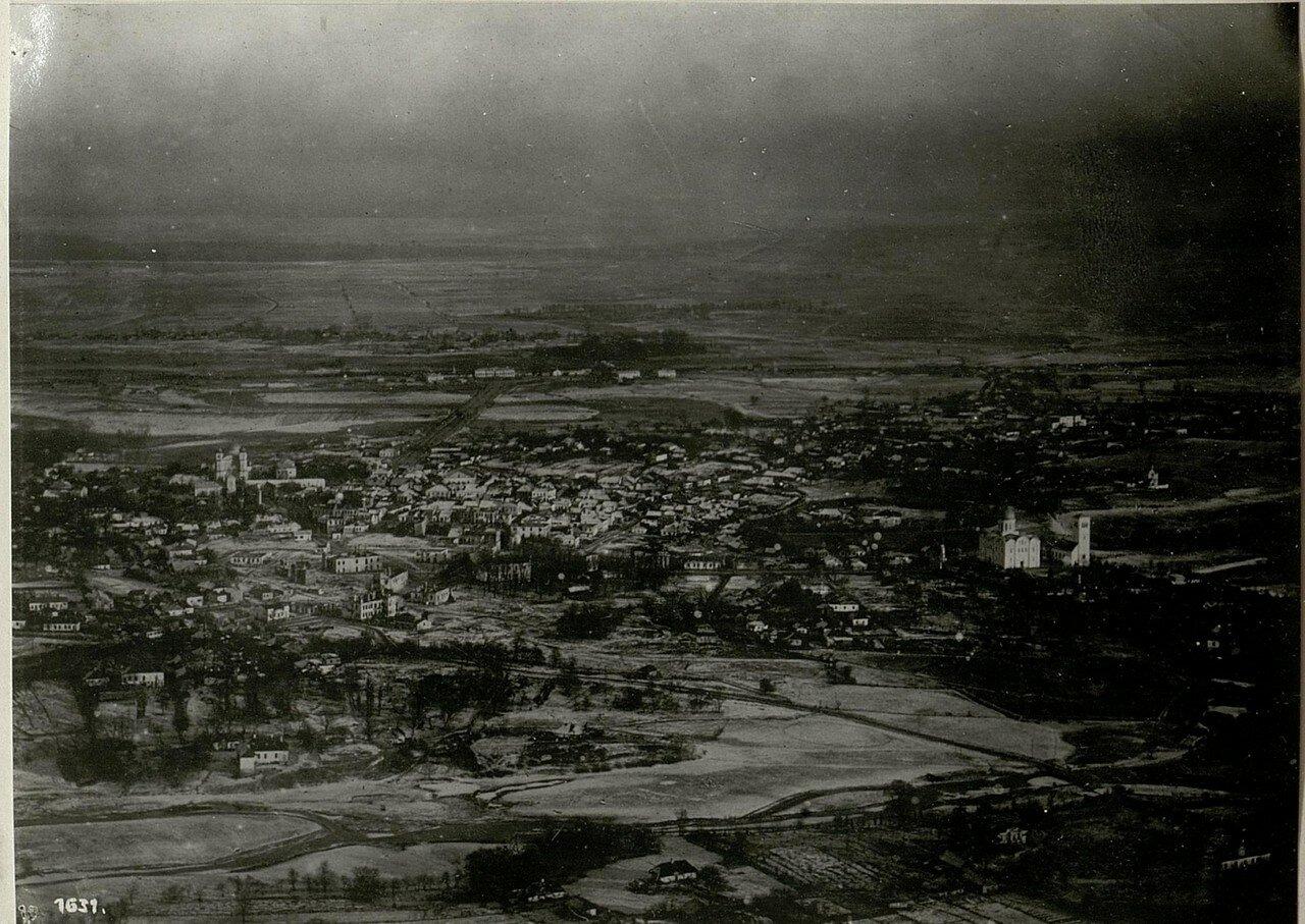 Аэрофотосъёмка города (14/IV.1918)