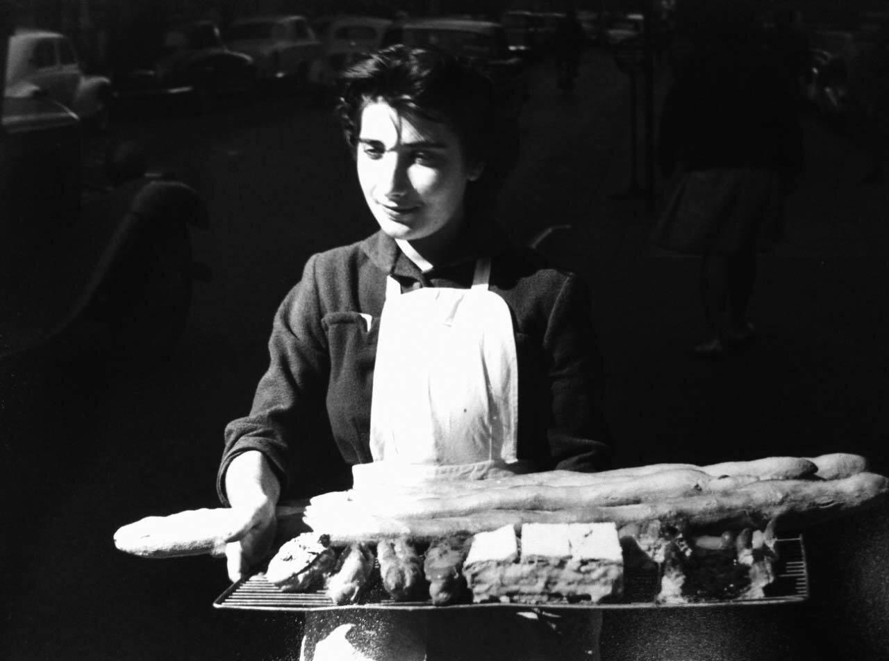 1960. Пекарь. Париж