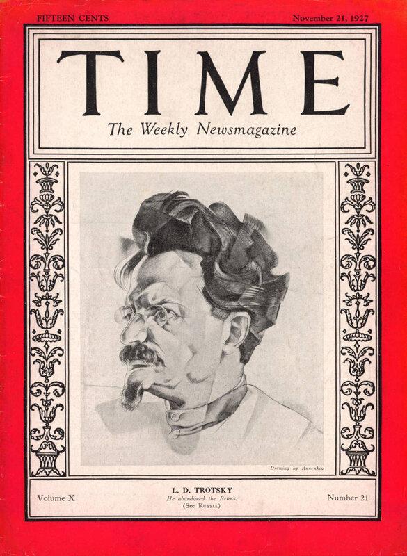 Лев Троцкий, журнал ТАЙМ