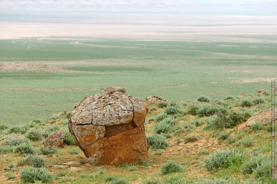 конкреции в долине Торыш Казахстан