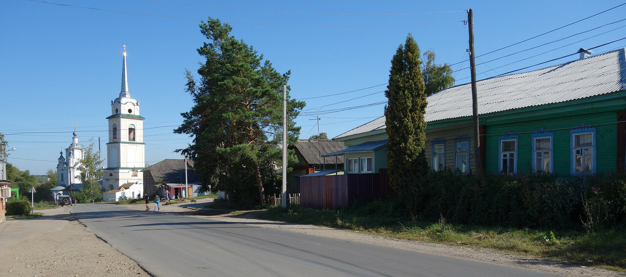 храм (собор) Николая в селе Крапивна