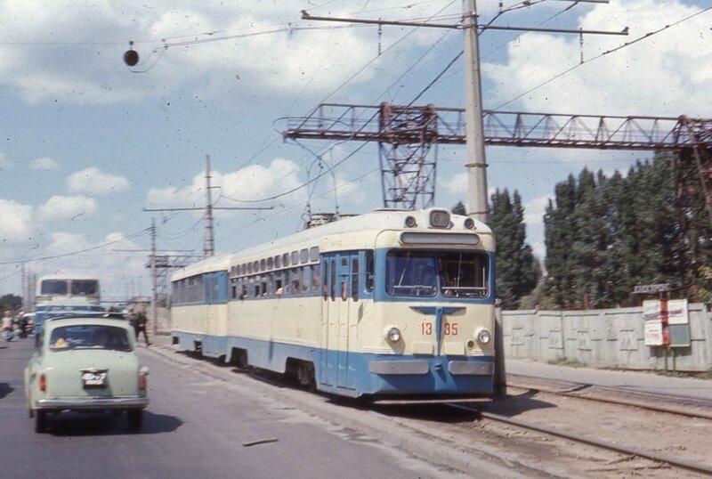 Трамвай в Киеве.
