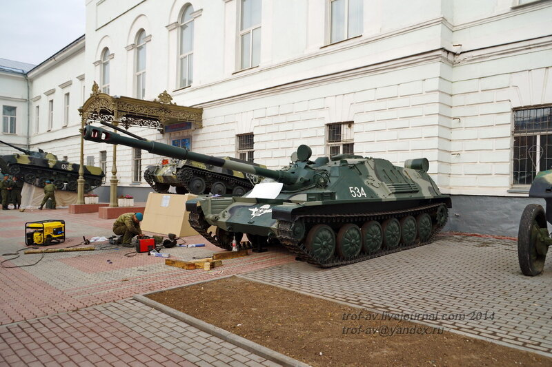 АСУ-85, Выставка военной техники у музея истории ВДВ, Рязань