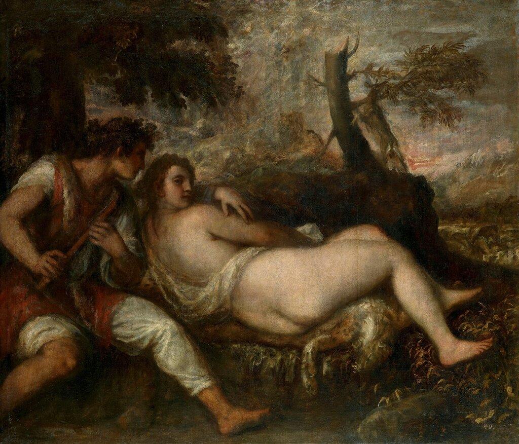 Пастух и нимфа