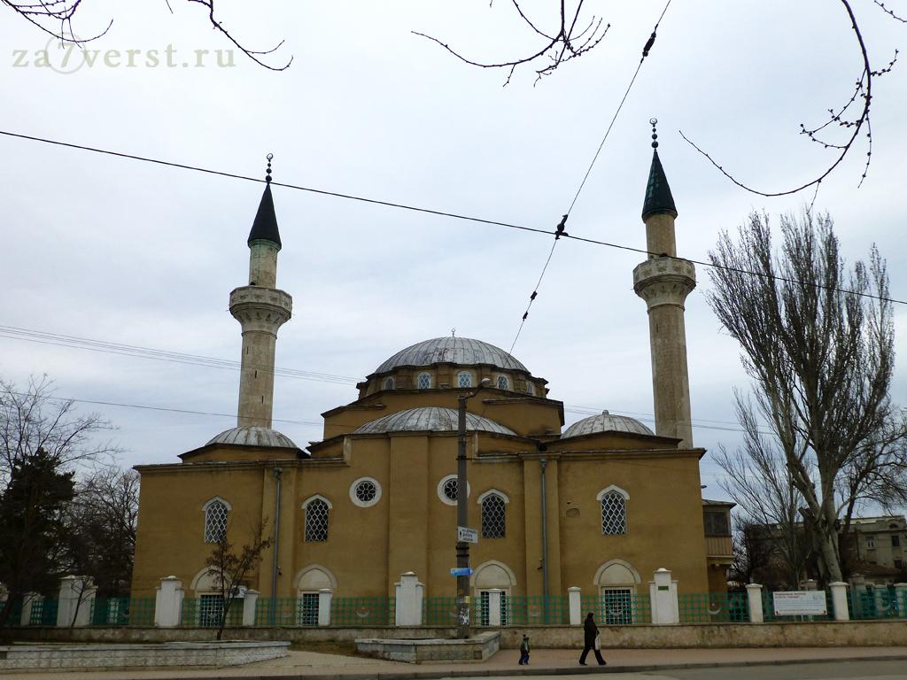 Крым, Евпатория, мечеть, улица