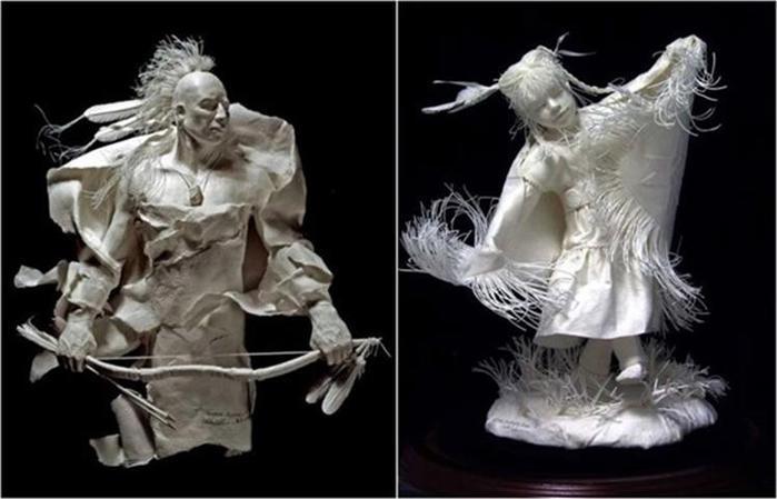 Удивительные скульптуры из бумажной массы 0 115b72 bbfd9c67 orig
