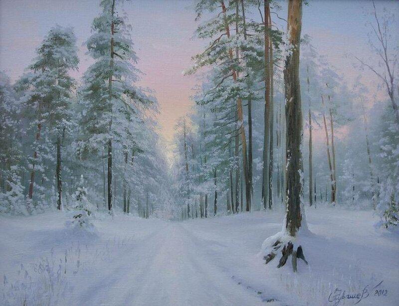 Белорусский художник Олег Чувашев. Нежные пейзажи и натюрморты 0 1110bd 3dff6daa XL