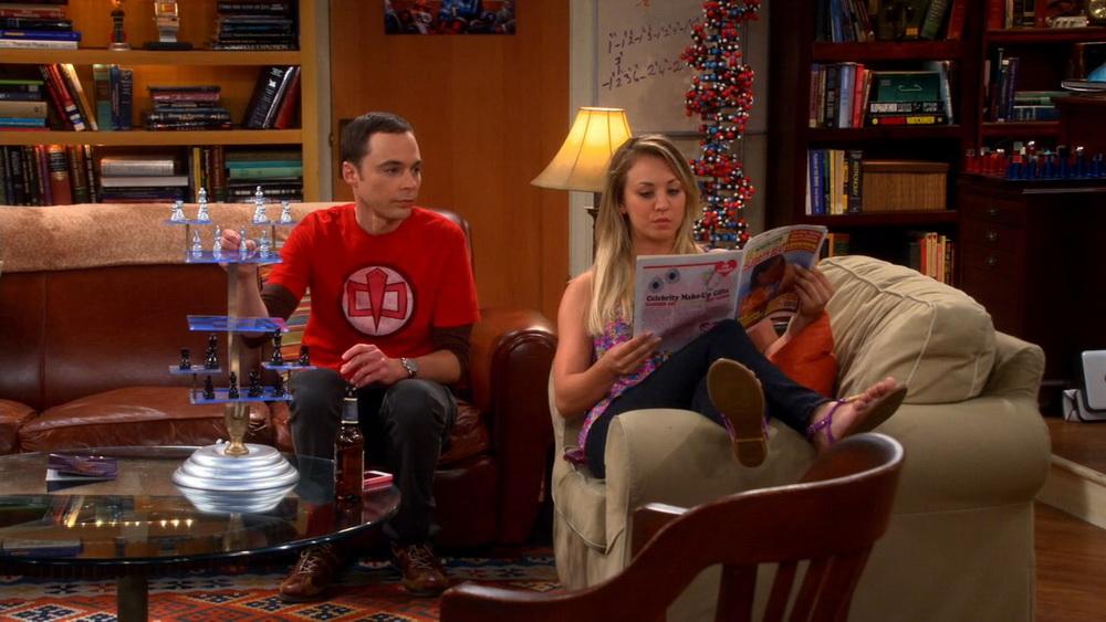 Фото свадьбы и других сцен 9 сезона «Теории Большого взрыва»