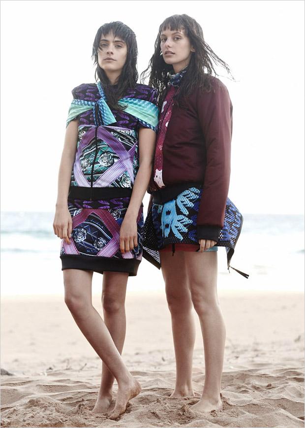 Карли Криппс (Carly Cripps) и Шарлотта Коклен (Charlotte Coquelin) в журнале Oyster