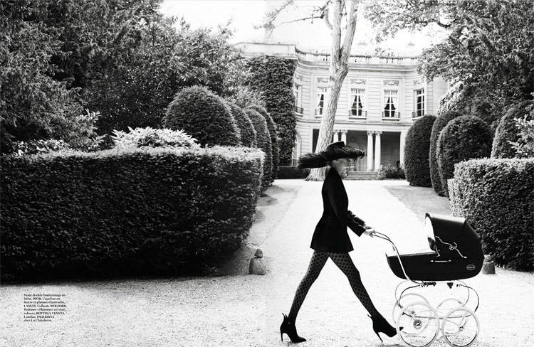 Наташа Поли (Natasha Poly) в журнале Vogue Paris