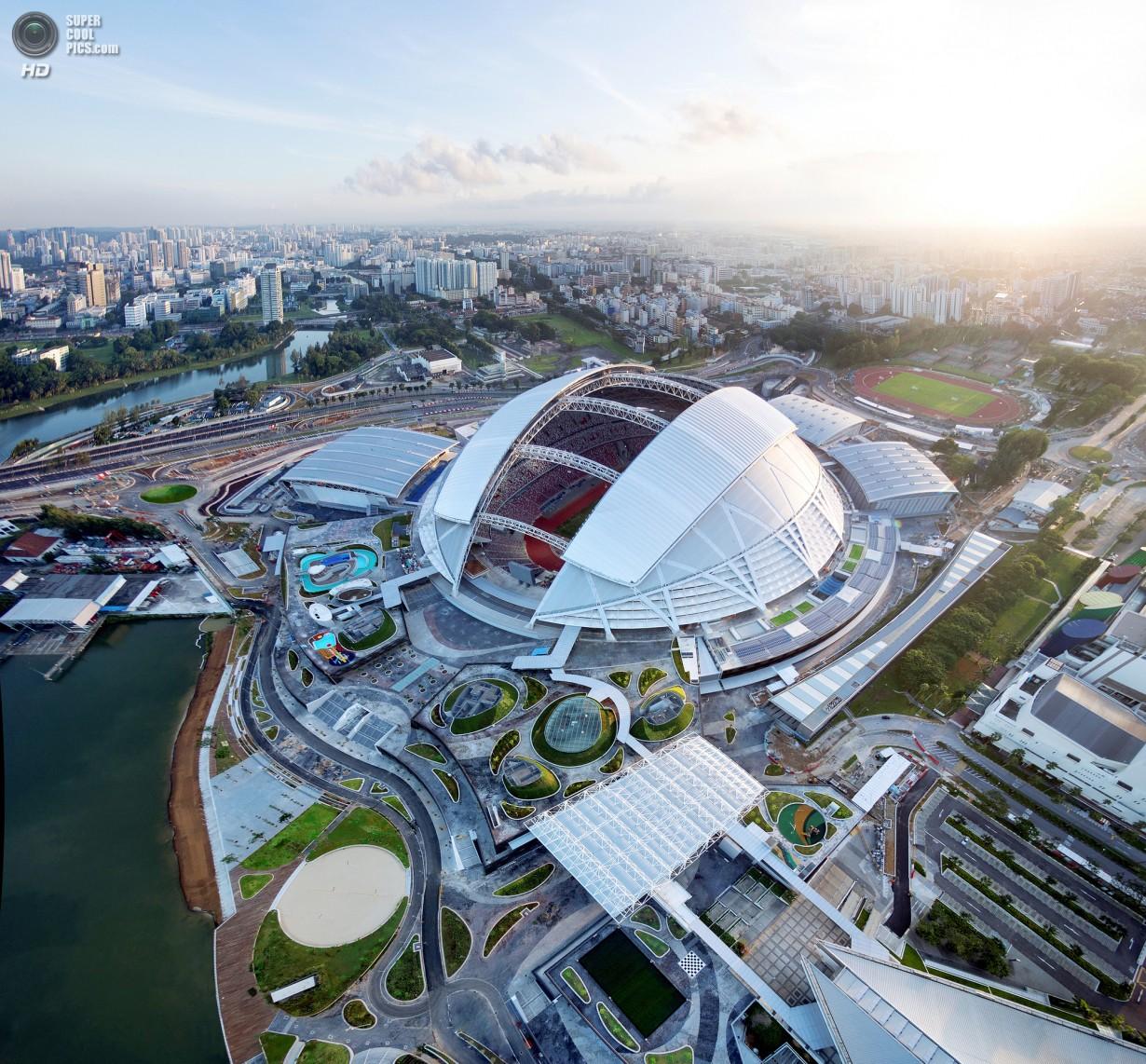 Спортивный «хаб» Сингапура (20 фото)