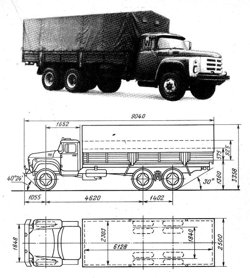 Автомобиль ЗИЛ-133ГЯ