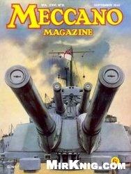Журнал Meccano Magazine №9 1941