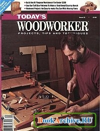 Журнал Today's Woodworker January-February 1993.