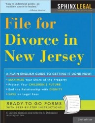 Книга File for Divorce in New Jersey, 2E (Legal Survival Guides)