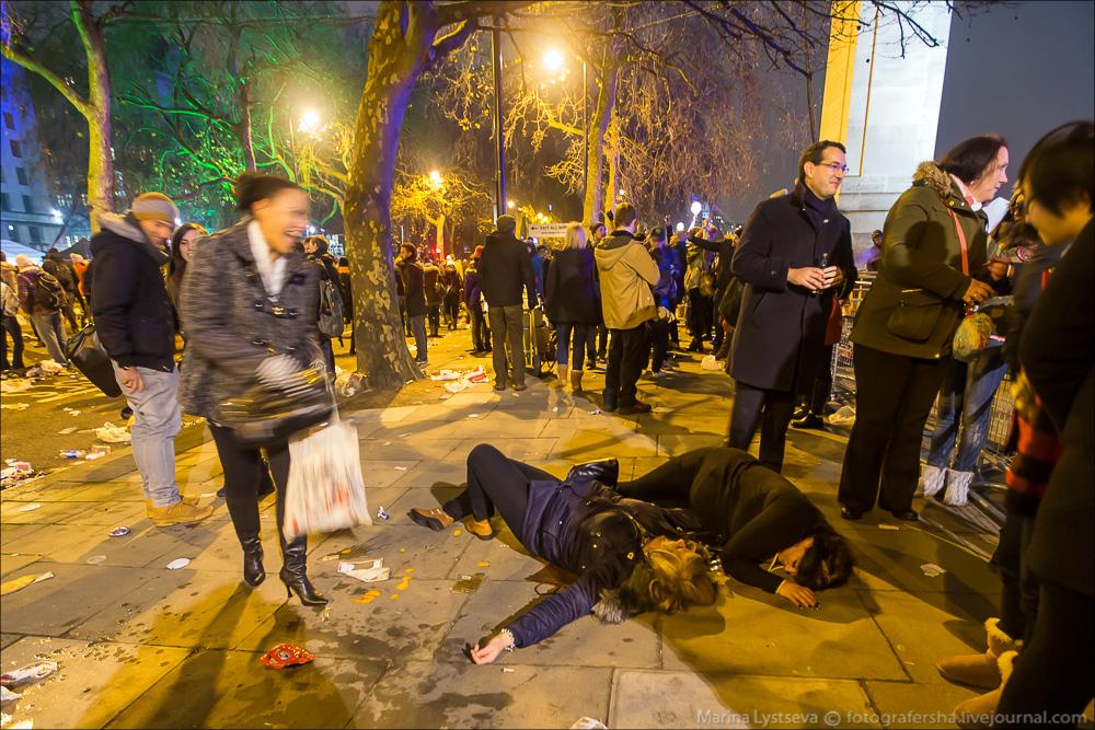 Новый год-2015 в Лондоне