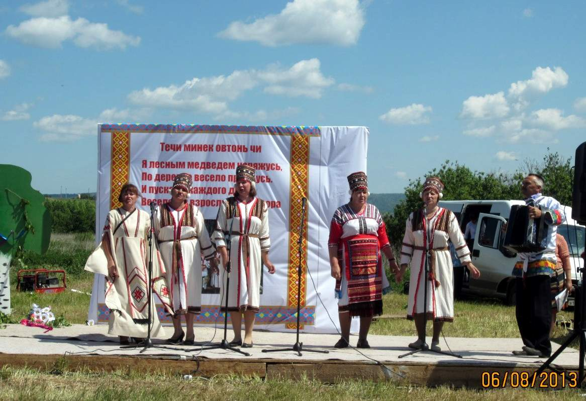 Мордовское село Верхний Акташ