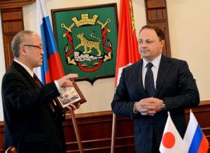 Во Владивостоке приступил к работе новый генеральный консул Японии