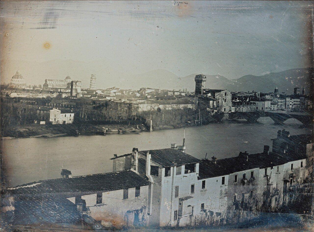 1845. Панорама Пизы