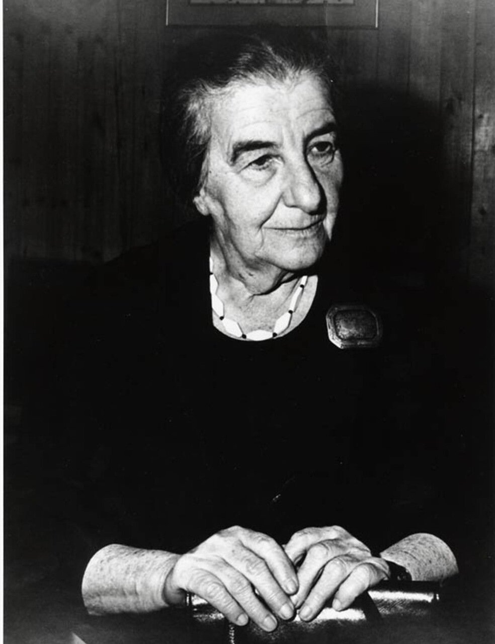 1969.  Голда Меир, премьер-министр