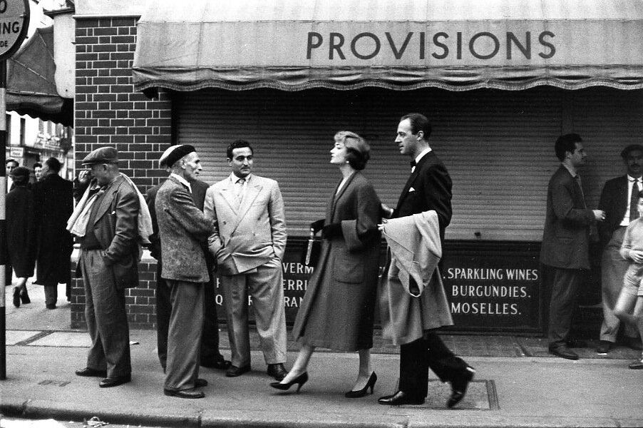 1956. Лондон