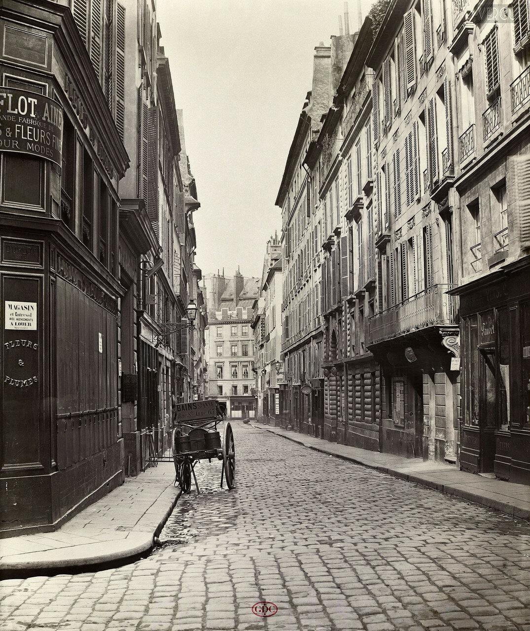 Рю де Ганновер. 1866
