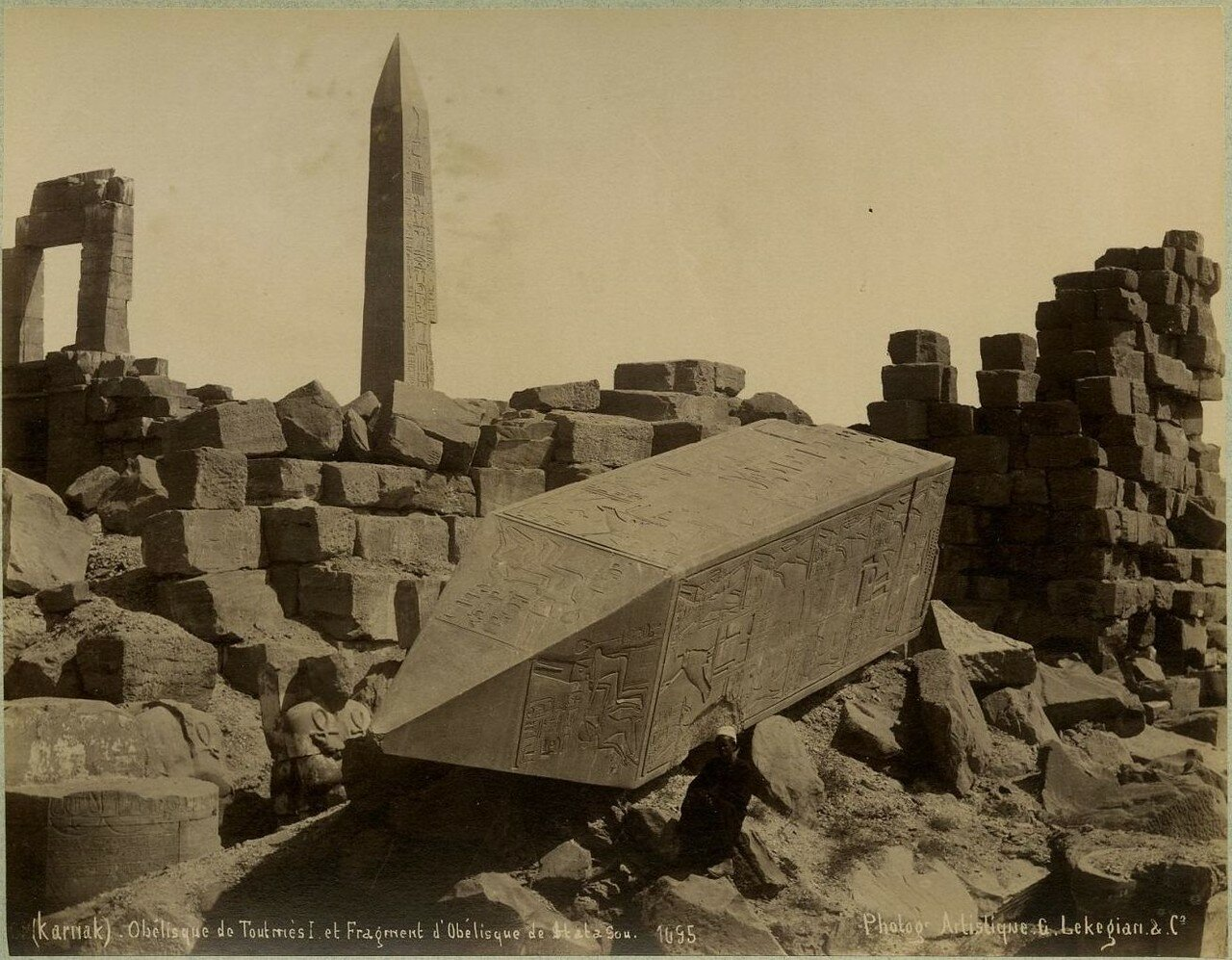 Карнак, Обелиск Тутмоса I